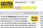 IE NetRenderer logo